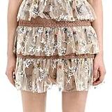 Self-Portrait Star Embellished Tulle Mini Dress