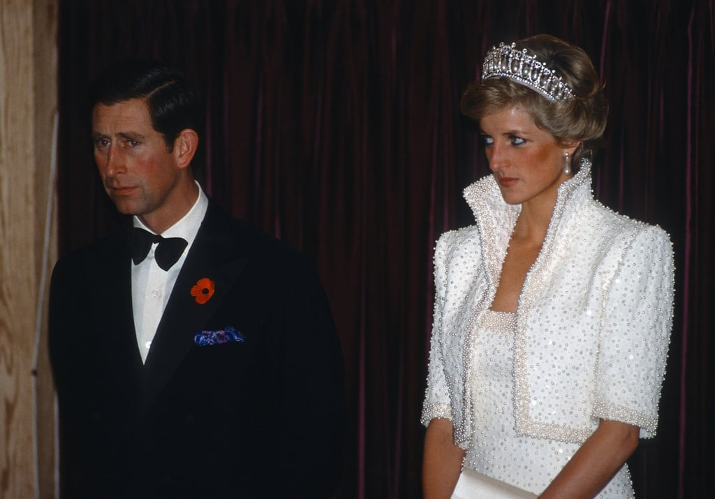 The pair looked noticeably uncomfortable during an official visit to Hong Kong in 1989.