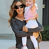 Sarah Jessica Parker with her daughter Marion.