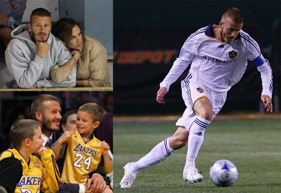 The Beckhams' Super Athletic Weekend