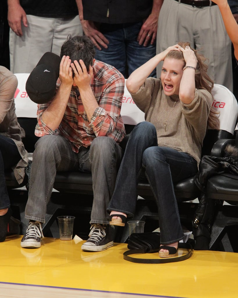 Amy and David Get Dramatic During Nail-Biting Lakers Loss!