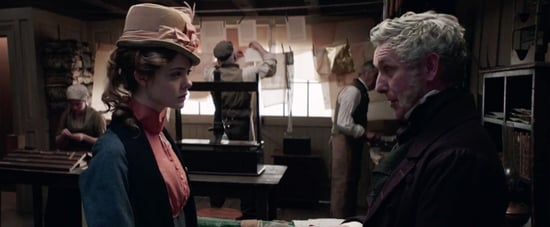 Elle Fanning in Mary Shelley Movie Video