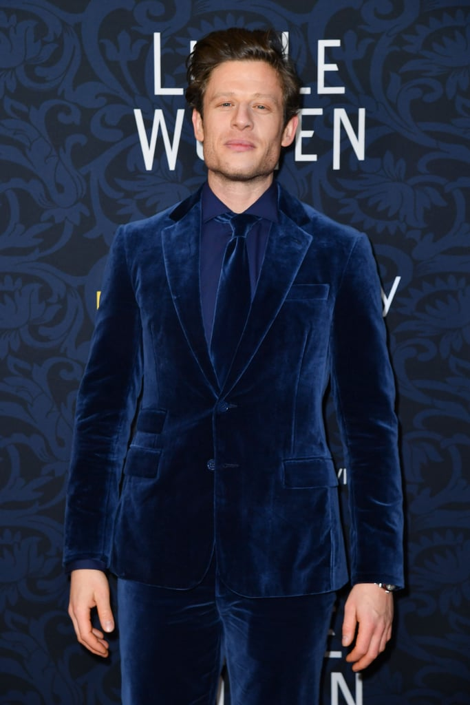 Pictured: James Norton at the Little Women world premiere.