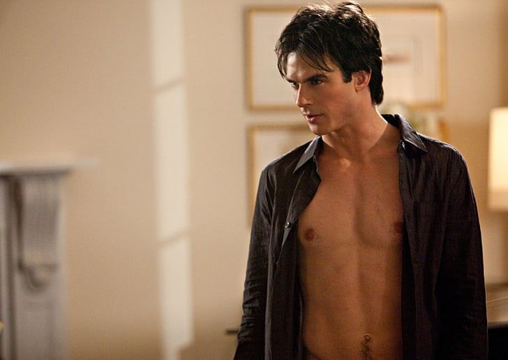 The Vampire Diaries Shirtless Pictures Popsugar Entertainment