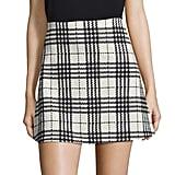 Design Lab Lord & Taylor Plaid Skirt