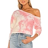 Superdown Ashtyn Off-Shoulder Sweatshirt