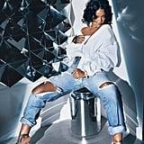 Rihanna Wearing Bajan Princess