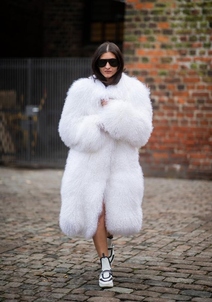 There's No Way You Won't Be Warm in a Fuzzy Coat Like This One