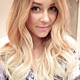 LC has great hair and the selfies to prove it. Source: Instagram user laurenconrad