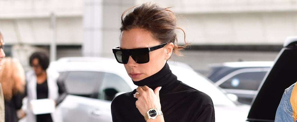 Victoria Beckham Airplane Beauty Routine