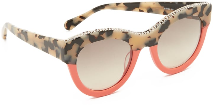 588b3d75bb9 Stella McCartney Chain Colorblock Sunglasses