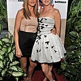 Jennifer posed with Juliette Lewis at the LA premiere of The Switch in August 2010 — fun fact: they both dated Brad Pitt!