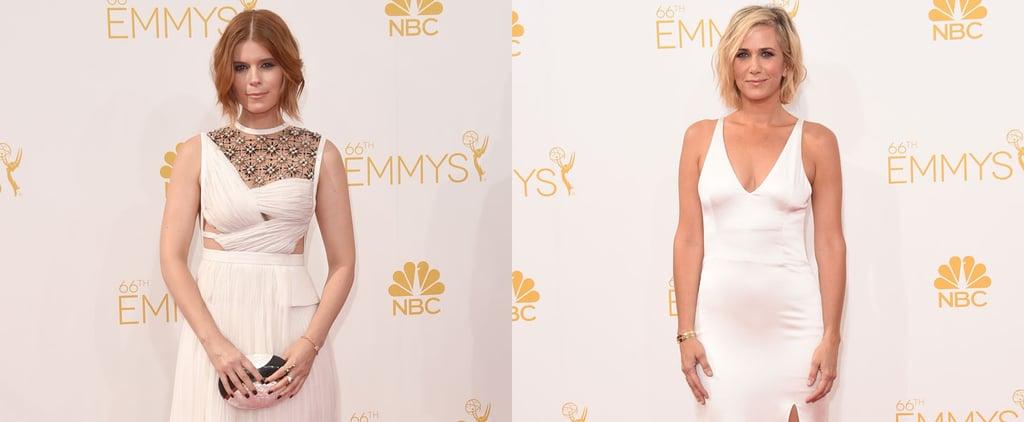 White Red Carpet Dresses at the 2014 Emmy Awards