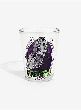 Beetlejuice Ghost With the Most Mini Glass
