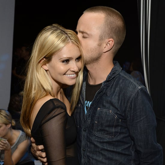 Aaron Paul and Lauren Parsekian Cute Pictures