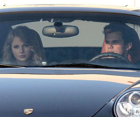 Photo Slide of Taylor Swift and Taylor Lautner Out to Dinner in LA