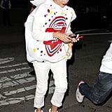 Rashida Jones dressed as an adorable Blow Pop in 2011.