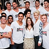 New CLEO editor Sharri Markson joined model and MTV VJ Kate Peck in introducing the latest crop of Bachelor of the Year contenders at Palings at the Ivy in Sydney on May 20.