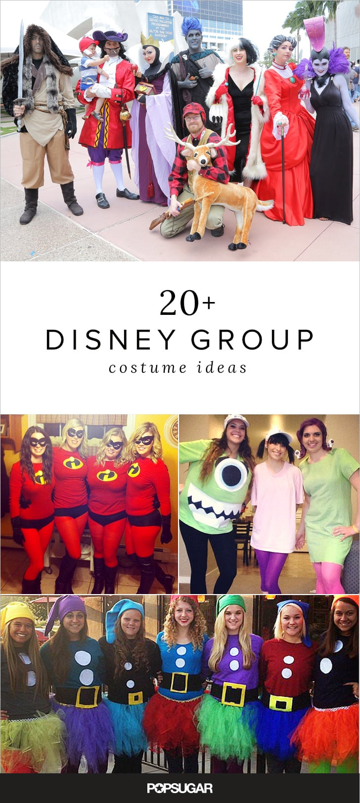 Costume Ideas For Groups - 23 group disney costume ideas for your squad