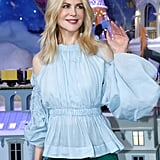 November: She Got in the Holiday Spirit at the Le Printemps Christmas Decorations Inauguration in Paris
