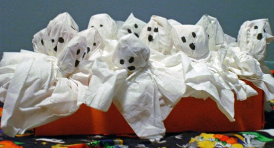 How to Make Ghost Lollipops For Halloween