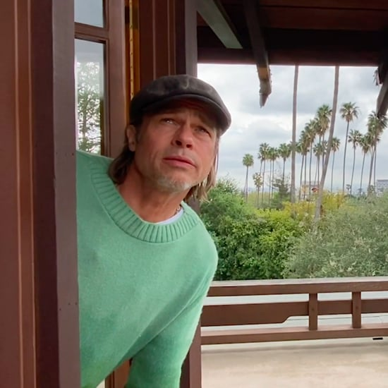 Watch Brad Pitt's Weather Report During Some Good News