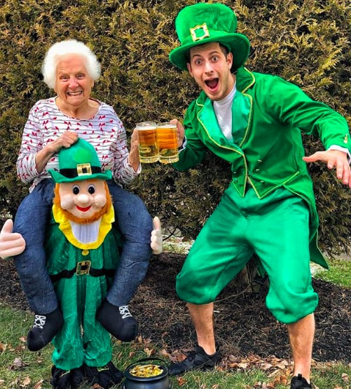 Photos of Man Who Dresses Up in Costume With His Grandma