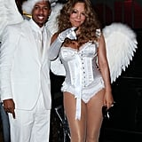 Mariah Carey and Nick Cannon as Angels