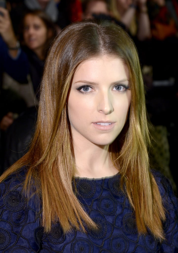 Anna Kendrick at Monique Lhuillier