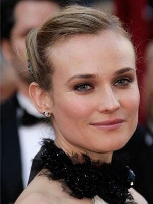 Diane Kruger's Hair at the 2010 Oscars