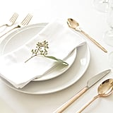 Polish silverware quickly and easily with WD-40 and a cloth — just be sure to rinse or wipe clean before using.
