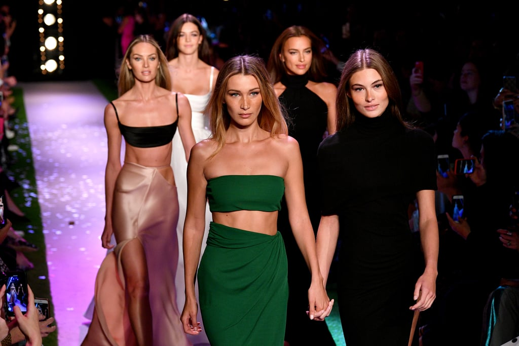 Bella Hadid, Grace Elizabeth, Irina Shayk, and Candice Swanepoel  Bella Hadid, Grace Elizabeth, Irina Shayk, and Candice Swane