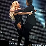 Beyoncé and Michelle Obama went in for a big one during the Global Citizen Festival in September 2015.