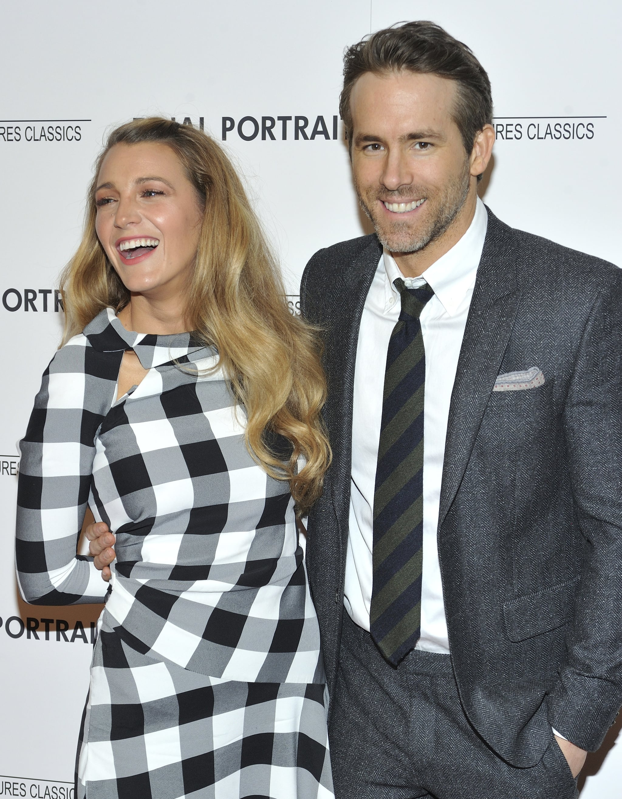 L-R: Actors Blake Lively and Ryan reynolds attend a special screening of