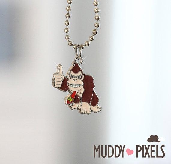 Donkey Kong Necklace