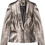 After seeing Kate Moss in a silver blazer, I've been looking for the perfect one for myself. I've found it in this Baukjen leather jacket (£369).