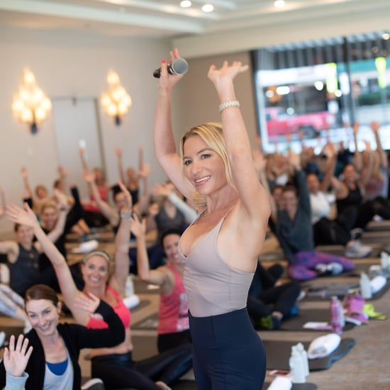 Why Tracy Anderson Doesn't Talk During Her Classes