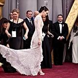 Rooney Mara's Red Carpet Wrangler at Work