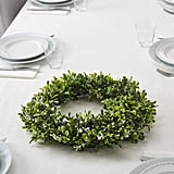 Vinterfest Medium Green Indoor/Outdoor Round Artificial Wreath
