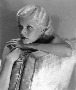 Beauty Biography of Jean Harlow