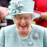 Queen Elizabeth II enjoys Royal Ascot in 2017