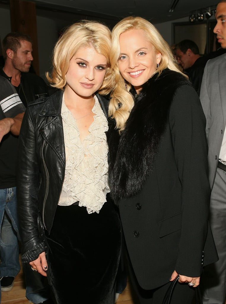 Blondies Kelly Osbourne And Mena Suvari Are A Fashionable Pair At Intermix In LA