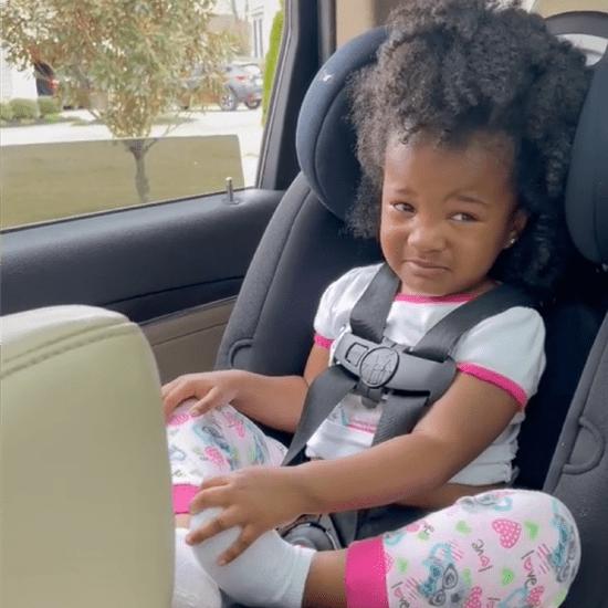 Toddler Says Tearful Goodbye to Grandpa | TikTok Video