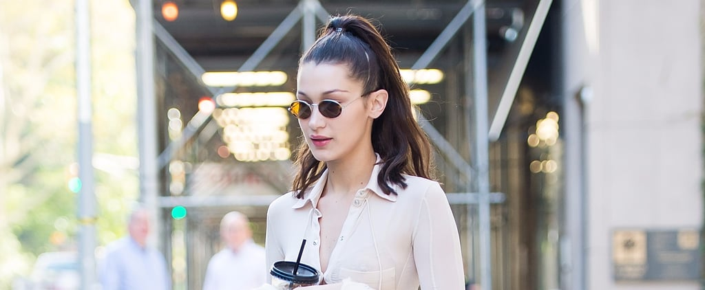 Bella Hadid's Outfit Is Giving Us Carrie Bradshaw Vibes Thanks to This 1 Detail