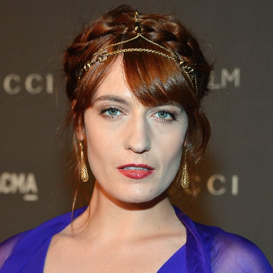Florence Welch's LACMA Hair Jewelry