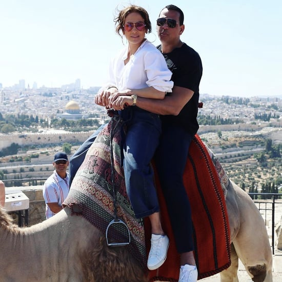 Jennifer Lopez Alex Rodriguez Vacation Photos in Israel 2019