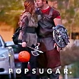 Chris Pratt and Anna Faris Together on Halloween 2018