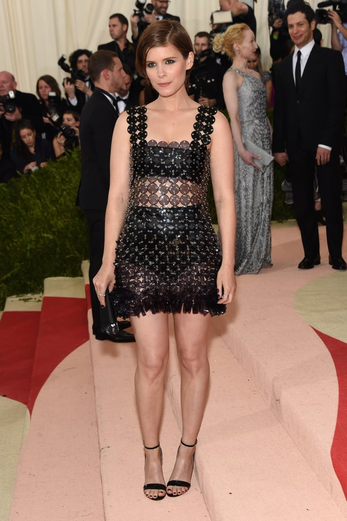 Kate Wore a Paco Rabbane Dress With Francesco Russo Heels to the Met Gala