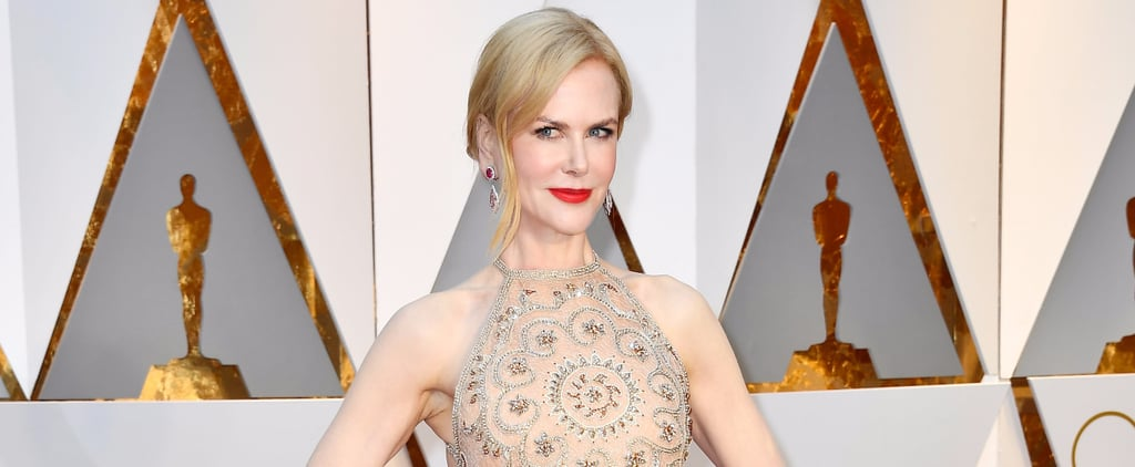 Nicole Kidman Just Stunned in Armani Privé at the 2017 Oscars