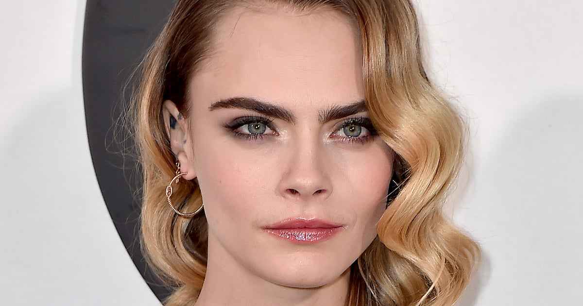 """Cara Delevingne Dyed Her Hair Brown and Admits """"Blondes Have More Fun, but Brunettes. . ."""".jpg"""